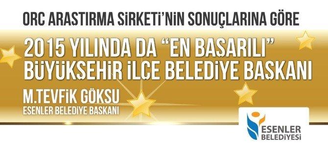 Mehmet Tevfik Göksu 2015'in En Başarılı Başkanı