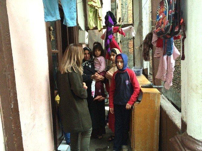Ortahisar'dan İhtiyaç Sahibi Ailelere Yardım