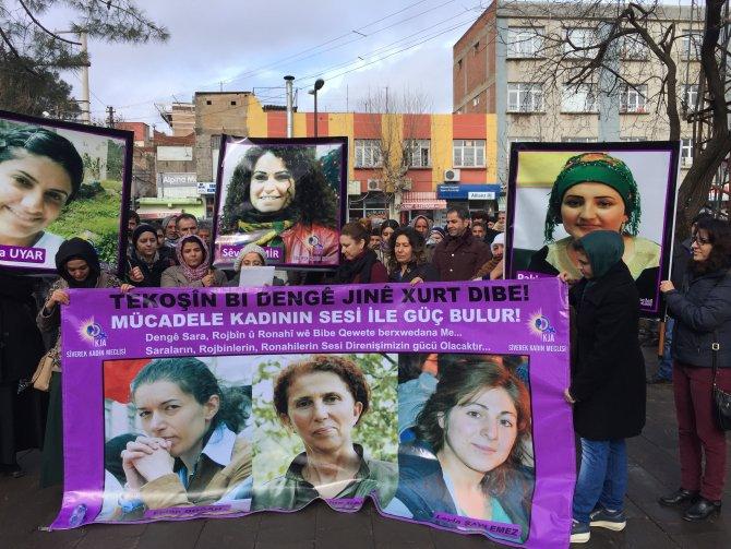 Paris'te öldürülen Sakine Cansız ve iki arkadaşı anıldı