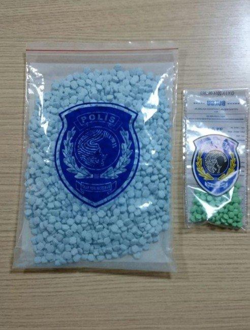 Rize'de Bin 727 Adet Uyuşturucu Hap Ele Geçirildi