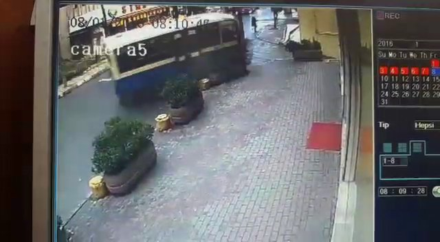 Can pazarının yaşandığı kaza kamerada