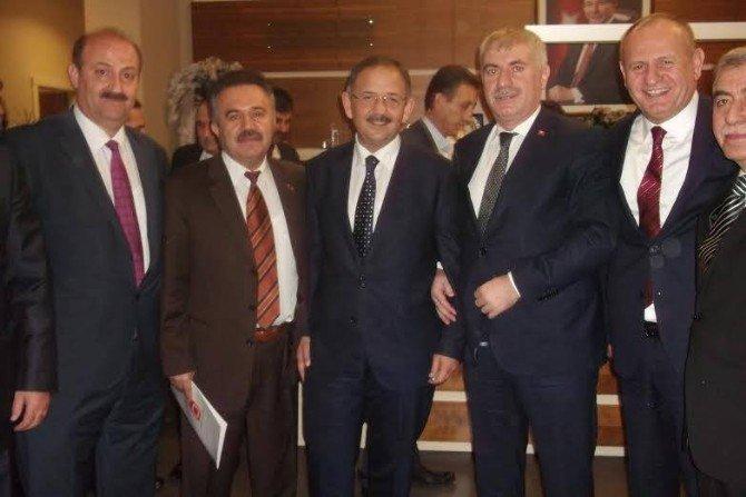 Başkanların Sorunları Özhaseki'ye İletildi