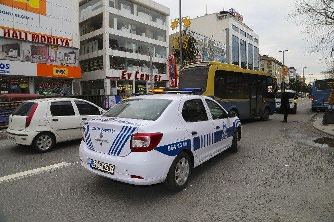 Sultanbeyli Zabıta Trafik Ekibi Görev Başında