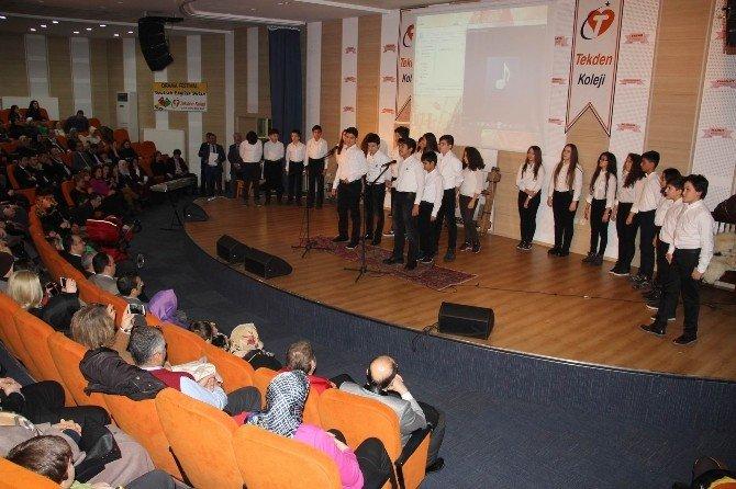 Tekden Koleji'nde Türk Büyükleri Gecesi Düzenlendi