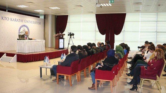 Usta Belgeselci Hadi Şenol, KTO Karatay Üniversitesi Öğrencileri İle Buluştu