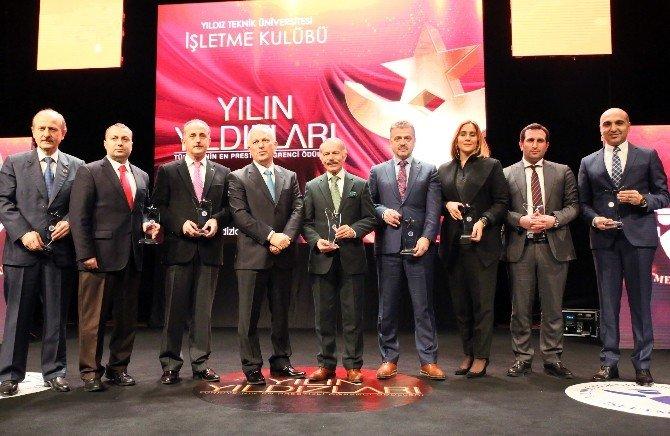 Başkan Kerimoğlu'na Yılın Özel Yıldızı Ödülü