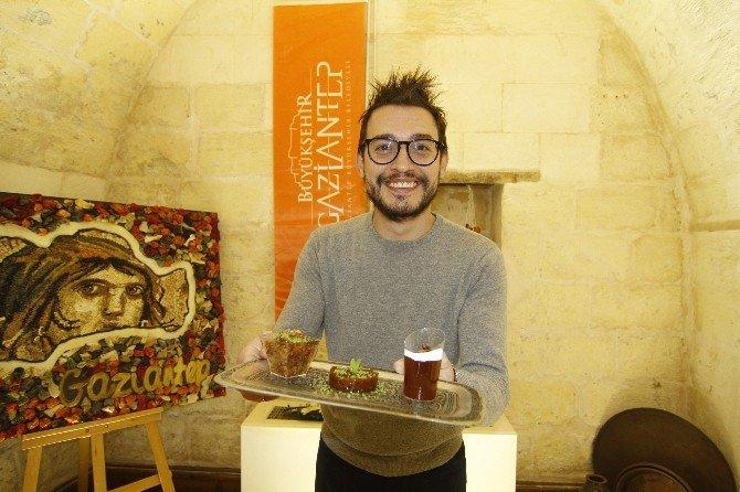 İtalyan Aşçı, UNESCO'ya Dahil Edilen Gaziantep Mutfağı'na Hayran Kaldı