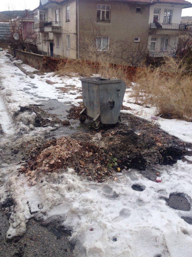'Soba külleri çöp tankına söndürülmeden atılmamalı'