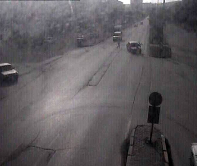 Yozgat'ta 2015'in Trafik Kazaları MOBESE Kamerasında