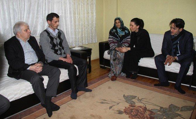 Karaaslan'dan Şehit Ailesine Ziyaret