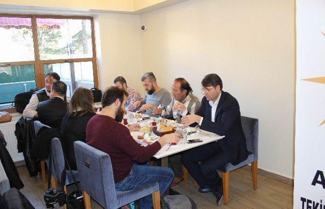 AK Parti Tekirdağ İl Teşkilatı, Çalışan Gazeteciler Gününü Kutladı