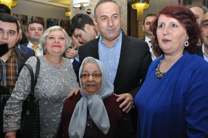 Dışişleri Bakanı Çavuşoğlu Sandıklı'da