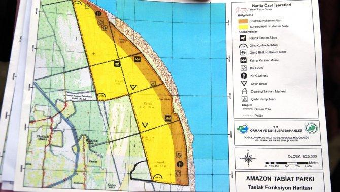 Amazon Tabiat Parkı turizme kazandırılıyor