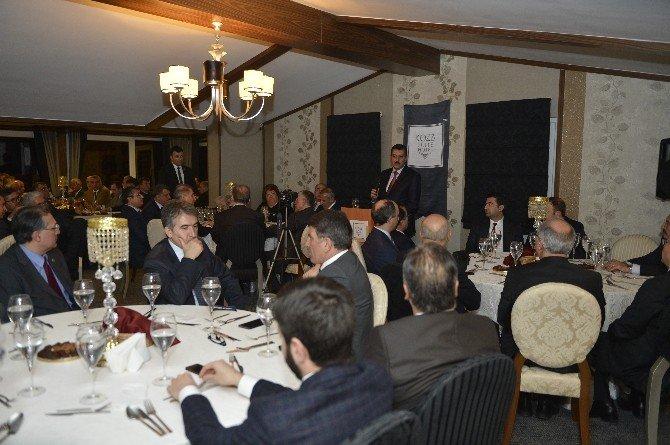 Ankara'da Malatyalı Bürokratlar Ve Siyasiler Bir Araya Geldi