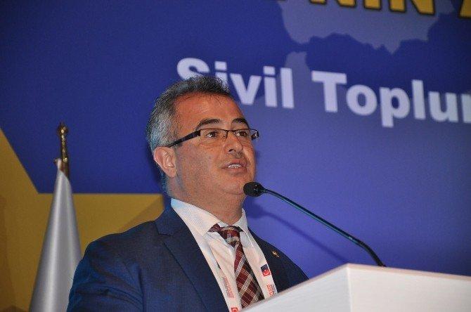 Başkan Özkara, Sivil Toplumla Diyalog Toplantısında Konuştu