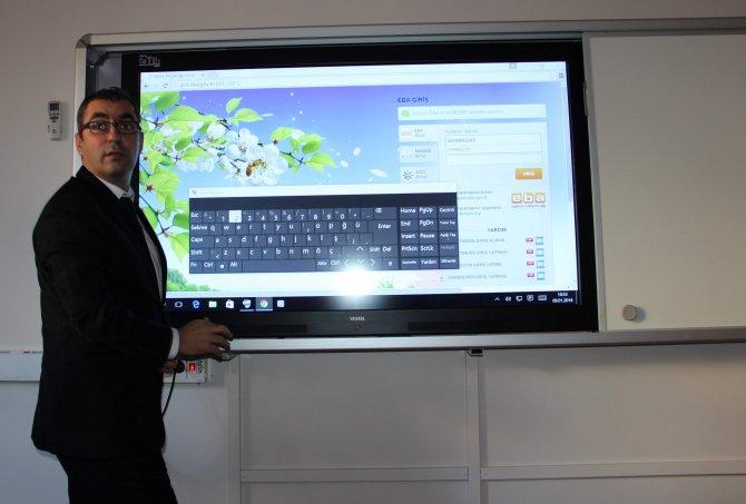 Aydın'da Eğitim Bilişim Ağı (EBA) projesi tanıtıldı