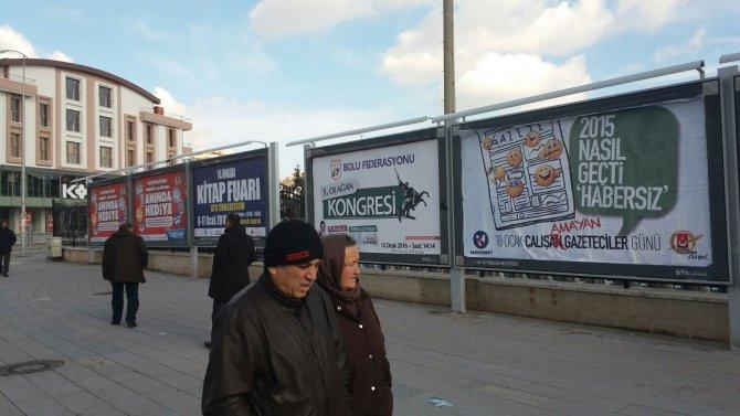 Basın Konseyi'ndan Çalış(a)mayan Gazeteciler Günü afişi