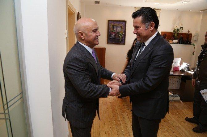 Azerbaycan Meclis Başkan Yardımcısı'ndan Başkan Kocadon'a Ziyaret