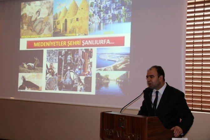 Şanlıurfa'da 'Göbeklitepe'de Taş İşçiliği Projesi' Tanıtım Toplantısı Yapıldı