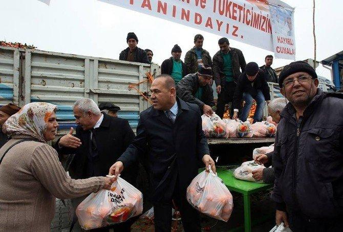 Büyükşehir'den Feke'ye Kapalı Semt Pazarı Ve Belediye Ek Hizmet Binası