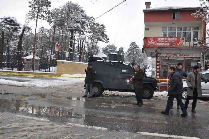 Tatvan'da Şüpheli Paket Alarmı