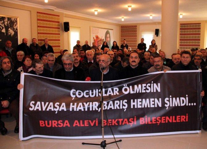 Aleviler çatışmaların durdurulması için oturma eylemi ve açlık grevi başlattı