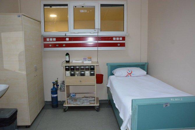 Hastanenin kimyasal biyolojik radyoaktif ve nükleer ünitesi açıldı