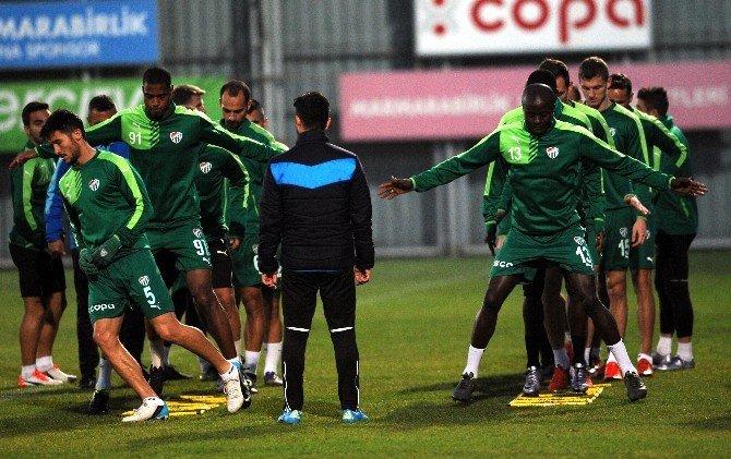 Bursaspor, Boluspor Maçına Hazır