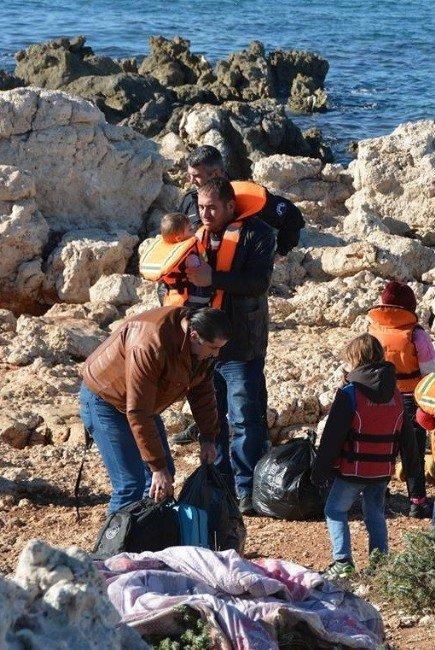 Didim'de 33 Göçmenin Kaçışı Son Anda Engellendi