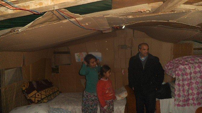 Roman Eğitim Gönüllüleri Derneği Başkanı, Çadırda Ölen Türkmen İçin Ezine'ye Gitti