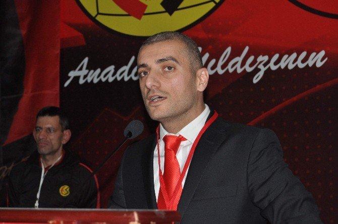 Eskişehirspor'da Başkan Değişmedi