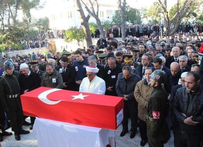 Şehit Uzman Çavuş Sağlam, Aydın'da Toprağa Verildi