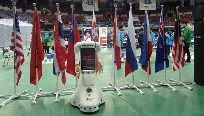 Gediz Üniversitesi'nin robotu Lale, arama kurtarma görevlisi oldu