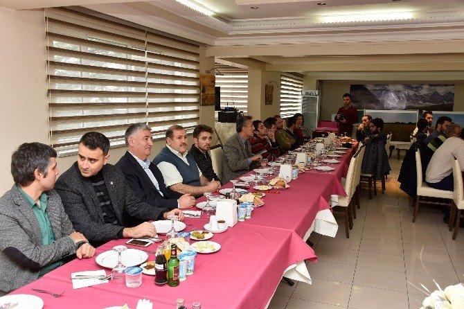 Gümüşhane'de 10 Ocak Çalışan Gazeteciler Günü Etkinliği