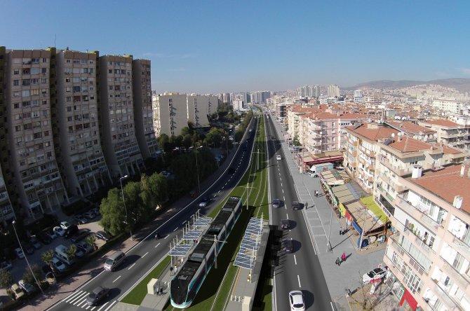 Karşıyaka Tramvayı için geçici trafik düzenlemesi yapılacak