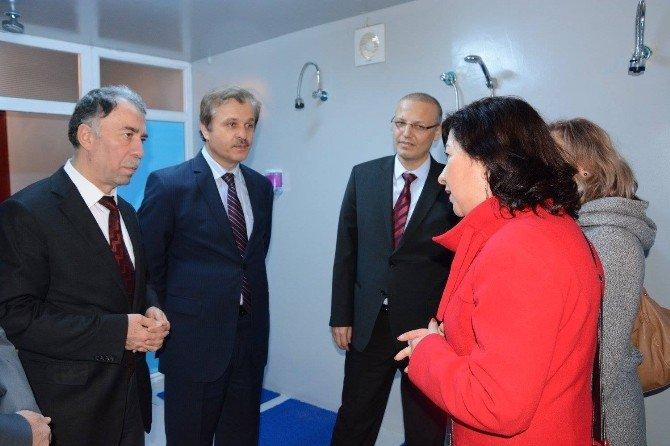 Çekirge Devlet Hastanesi'nde Kbrn Ünitesi Açıldı