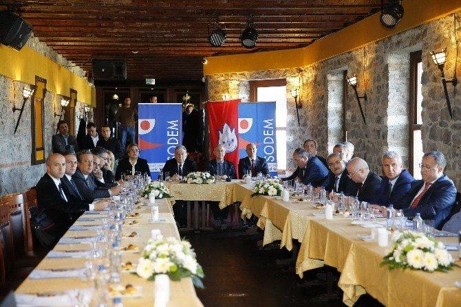 SODEM Yeni Yılın İlk Toplantısını Konak'ta Yaptı