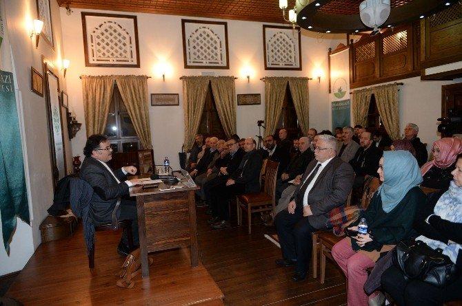 Emir Sultan Hazretleri Konferansla Anıldı