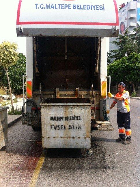 Maltepe'nin Temizliği İçin 87 Bin Kilometre Yol Süpürüldü
