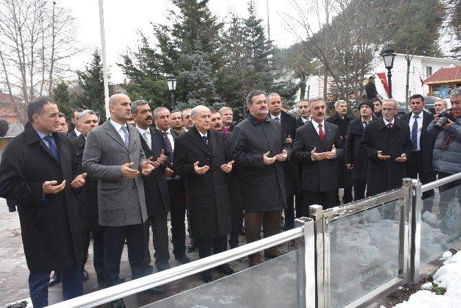 MHP Genel Başkanı Bahçeli Kızılcahamam'da