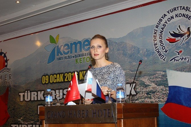 Antalya'da Türk-rus Dostluk Buluşması