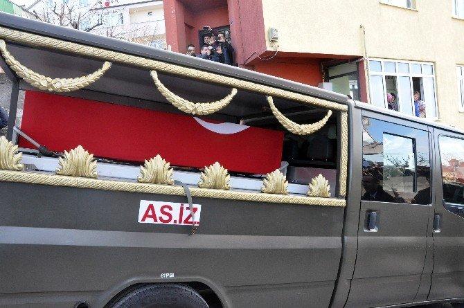 Şehit Jandarma Uzman Çavuş Ümit İnan'ın Cenazesi Baba Ocağına Getirildi