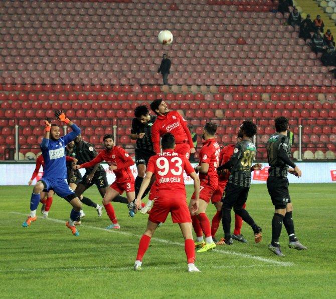 Akhisar Belediyespor: 0 - Kastamonuspor 1966: 0