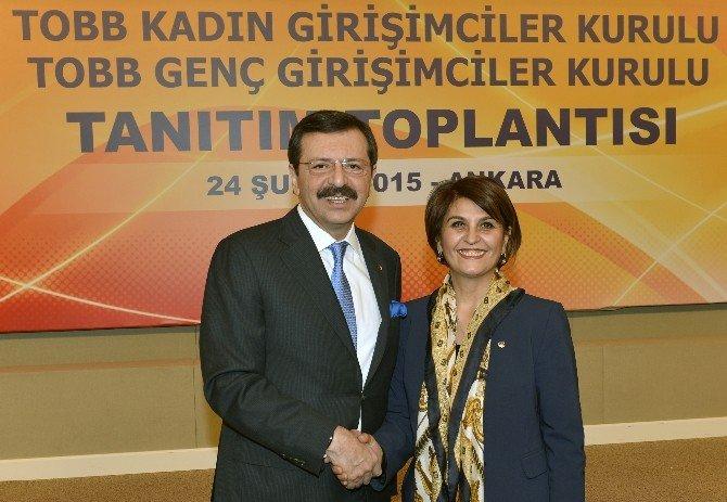 Akkaya, TOBB Kadın Girişimciler Güneydoğu Anadolu Bölgesi Temsilcisi Oldu