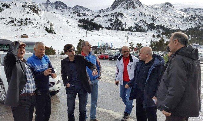 Erzurum'daki Kayak Merkezleri İçin Avrupa Mesaisi