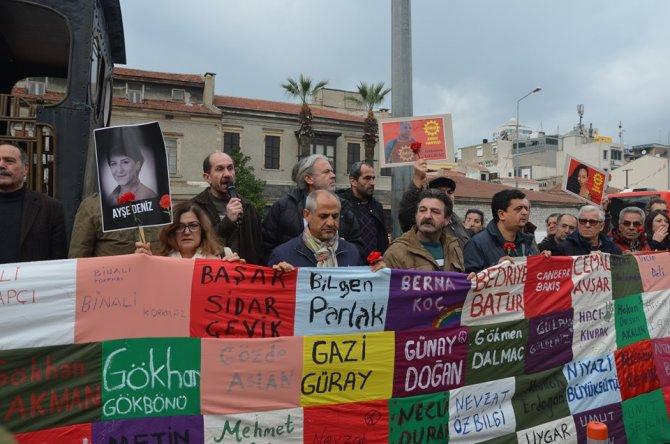 İzmir'de pankart gerginligi