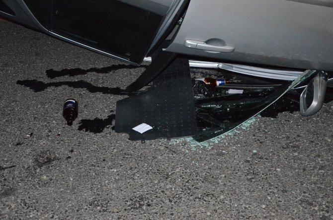 Ankara'da kaza: 2 ağır yaralı