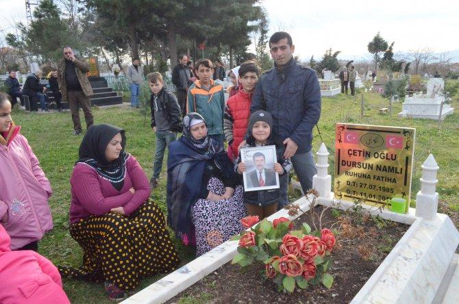 Bafra'da 1 yıl önce tekne faciasında ölenler dualarla anıldı