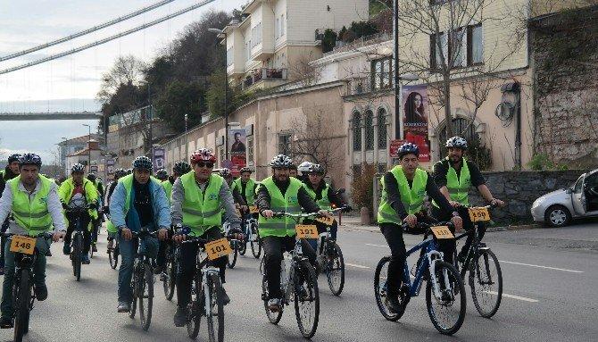 Basın Mensupları Kendi Günlerini Pedal Çevirerek Kutladı