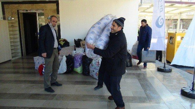 Beşir Derneği'den Suriyeli Sığınmacılara Yardım